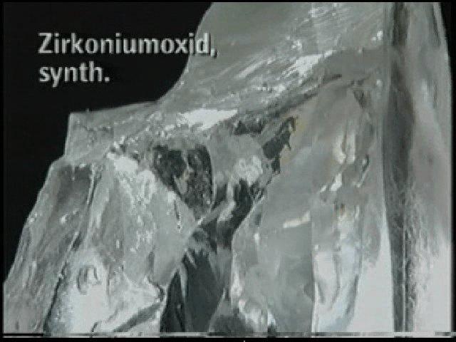 ジルコニア結晶